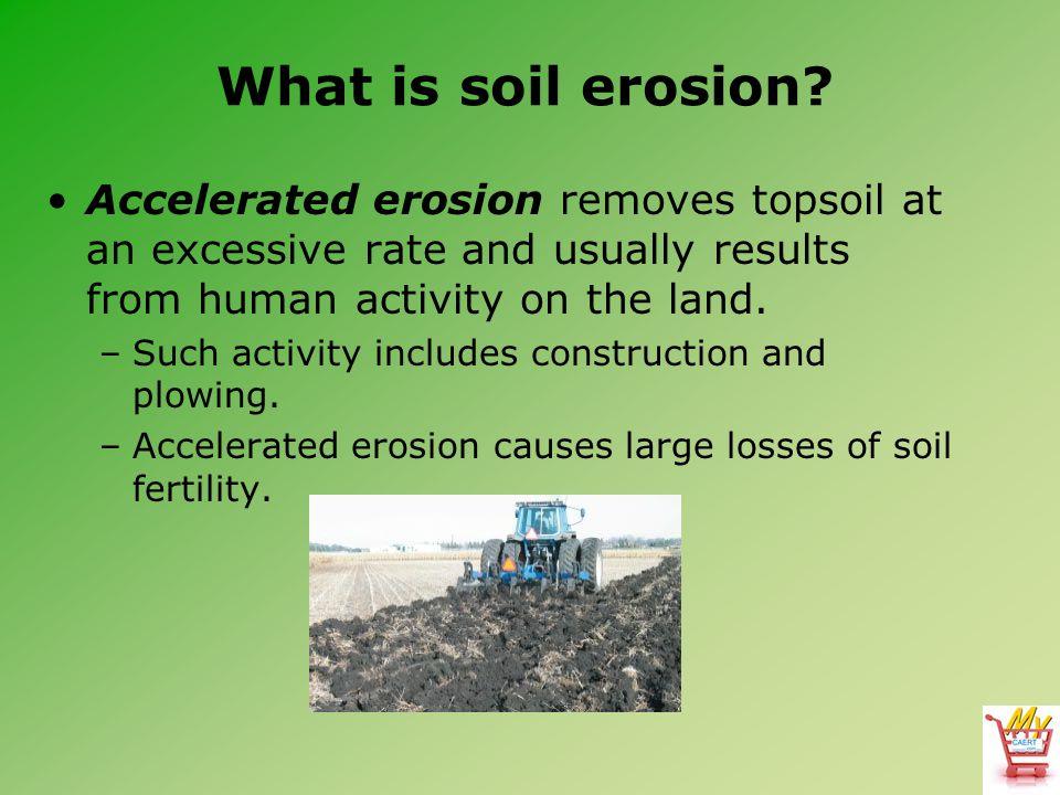 what is soil erosion pdf