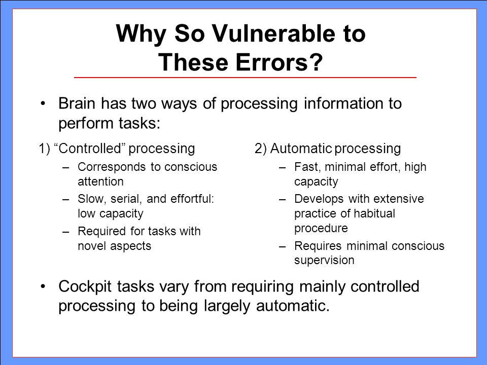 Concurrent Task Demands and Pilot Error in Airport Surface ...