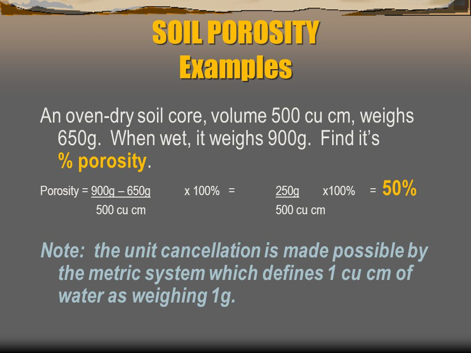 Physical properties of soil ppt video online download for Soil is an example of