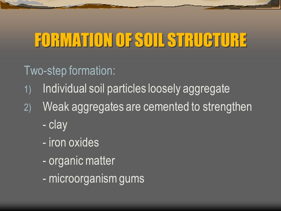Physical properties of soil ppt video online download for Meaning of soil formation