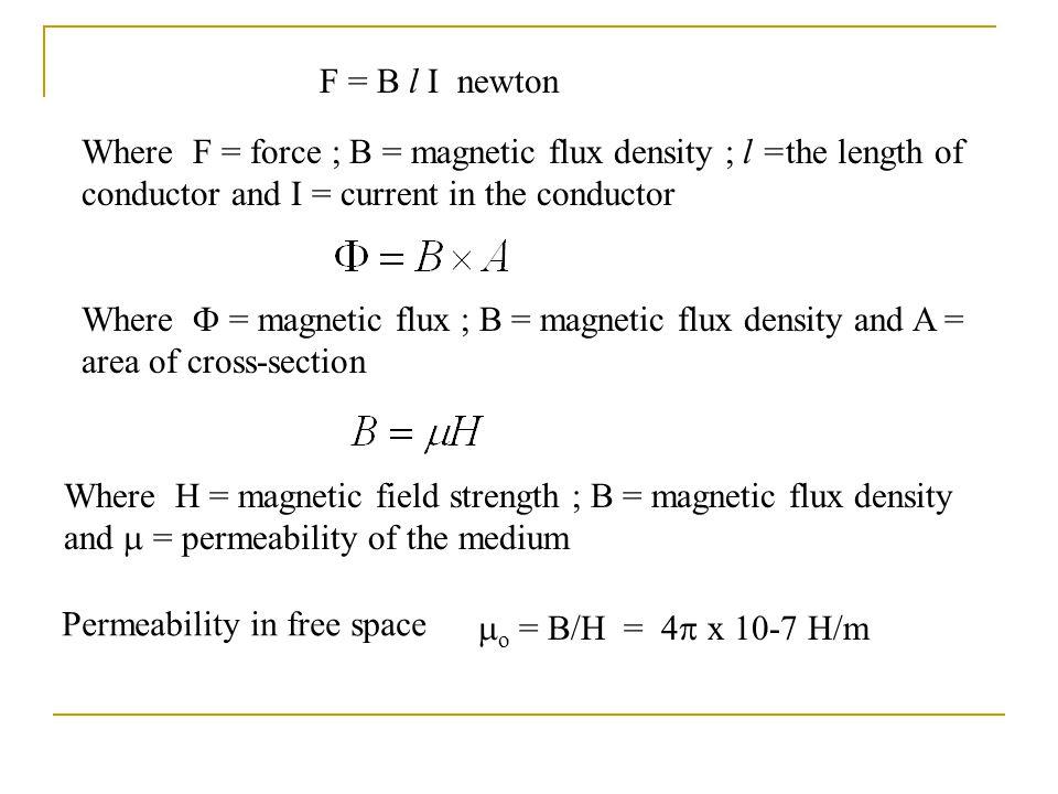 magnetic flux density formula - photo #21