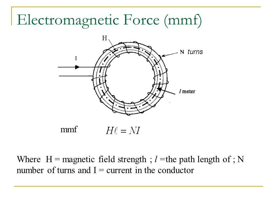Electromagnetism and magnetic circuits. - ppt video online ...