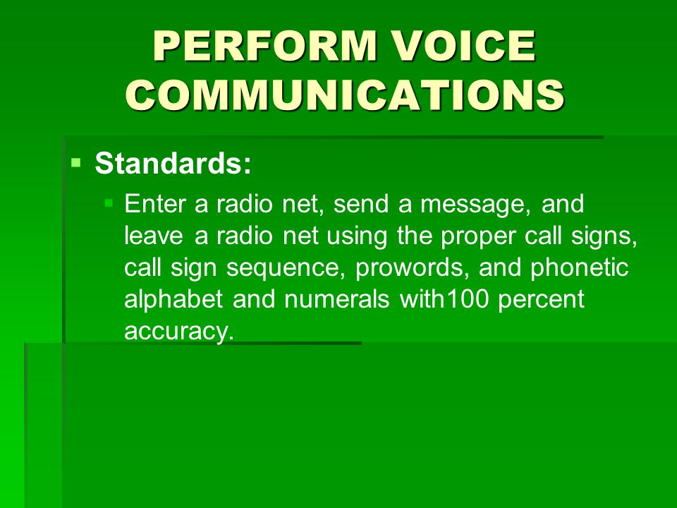 Perform voice communications ppt video online download perform voice communications altavistaventures Images
