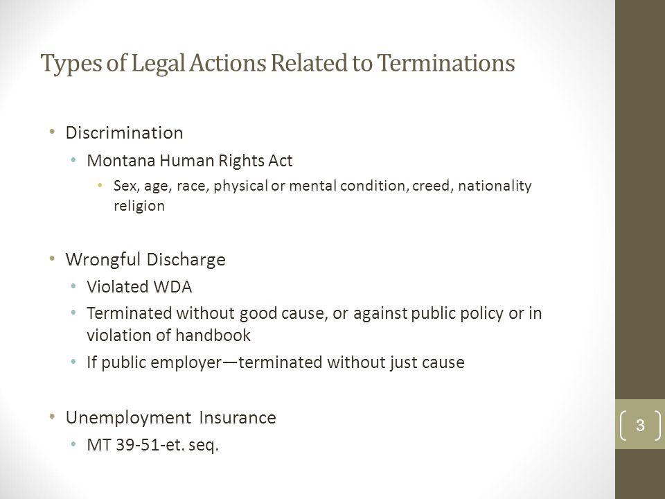 employment law handbook montana