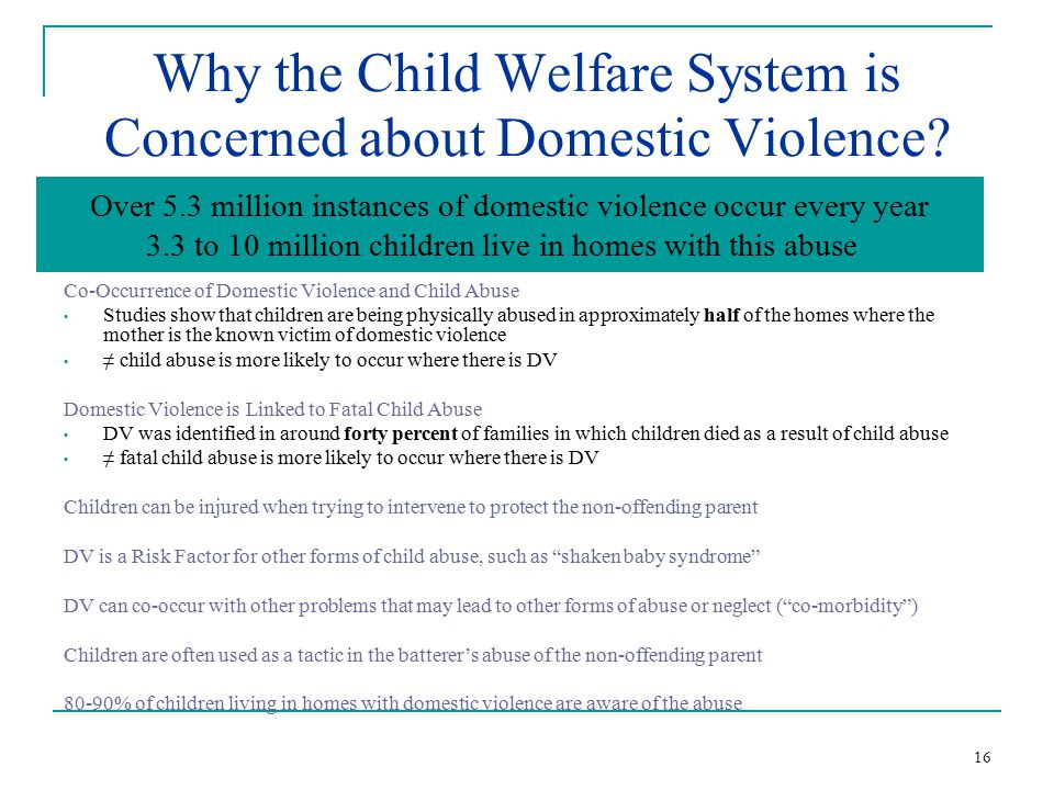 welfare system abuse The child welfare division works to meet the needs of louisiana's most vulnerable citizens the child welfare division works to protect children against abuse and/or neglect, find permanent homes for louisiana's foster children and to educate the public on safe sleep and louisiana's safe haven law.