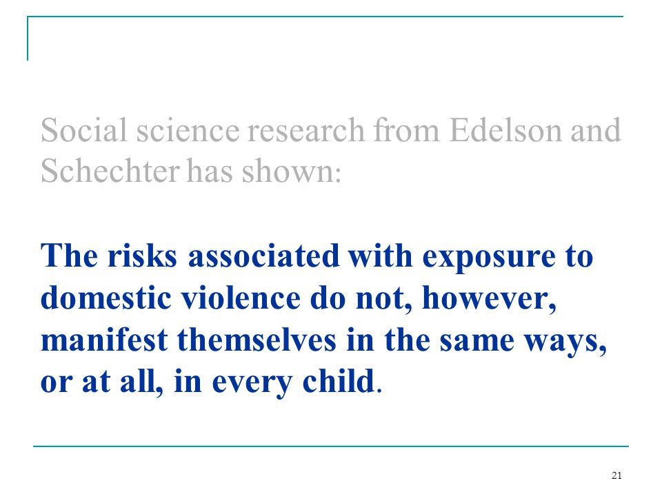 childhood exposure to domestic violence essay Child exposure to domestic violence cyndi white cja/314 january 9, 2012 g andrew smith the policy issues that seem to be a major concern in the united.