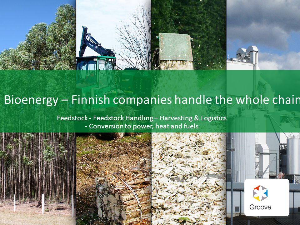 Bioenergy – Finnish companies handle the whole chain