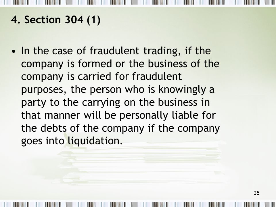 4. Section 304 (1)