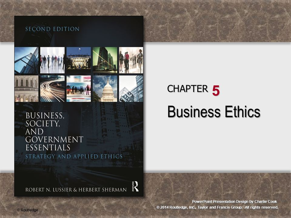 Business Ethics CHAPTER 5
