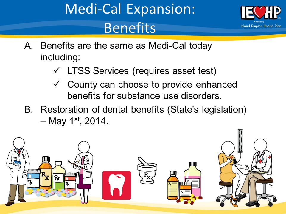 Medi-Cal Expansion: Benefits