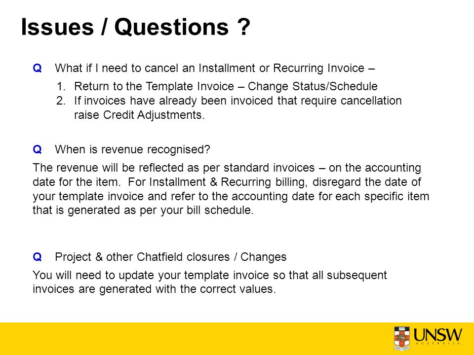 Installment & Recurring Billing - Ppt Download