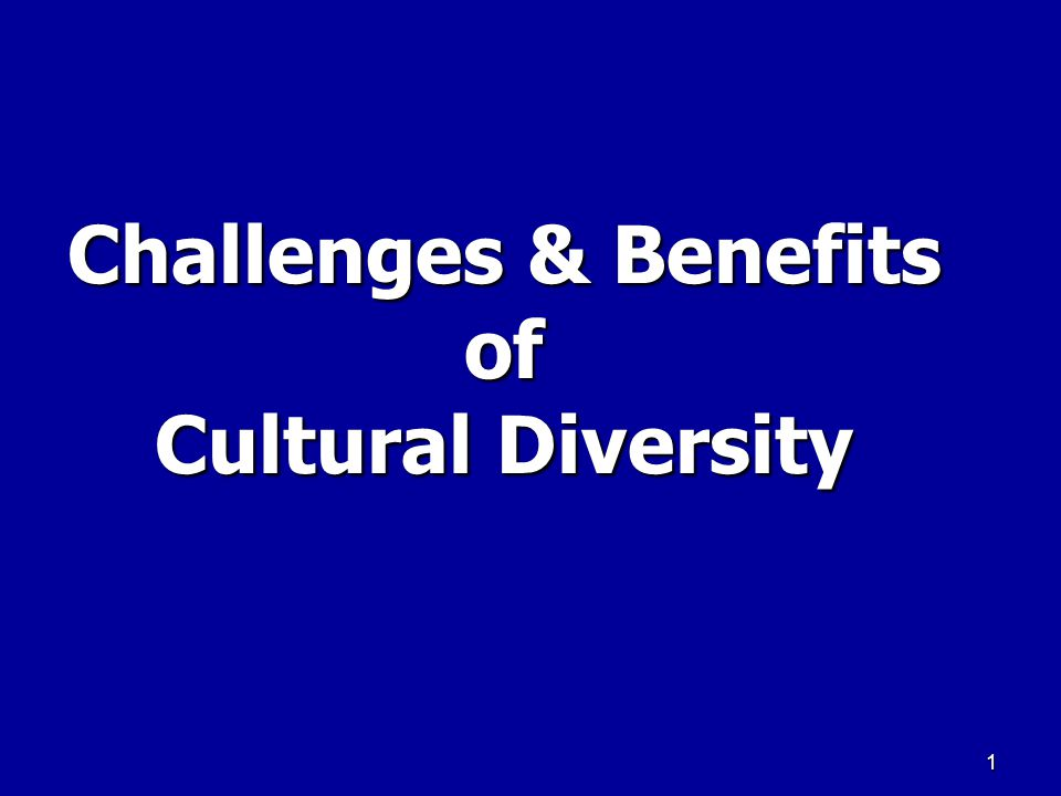 Advantages of racial and ethnic diversity
