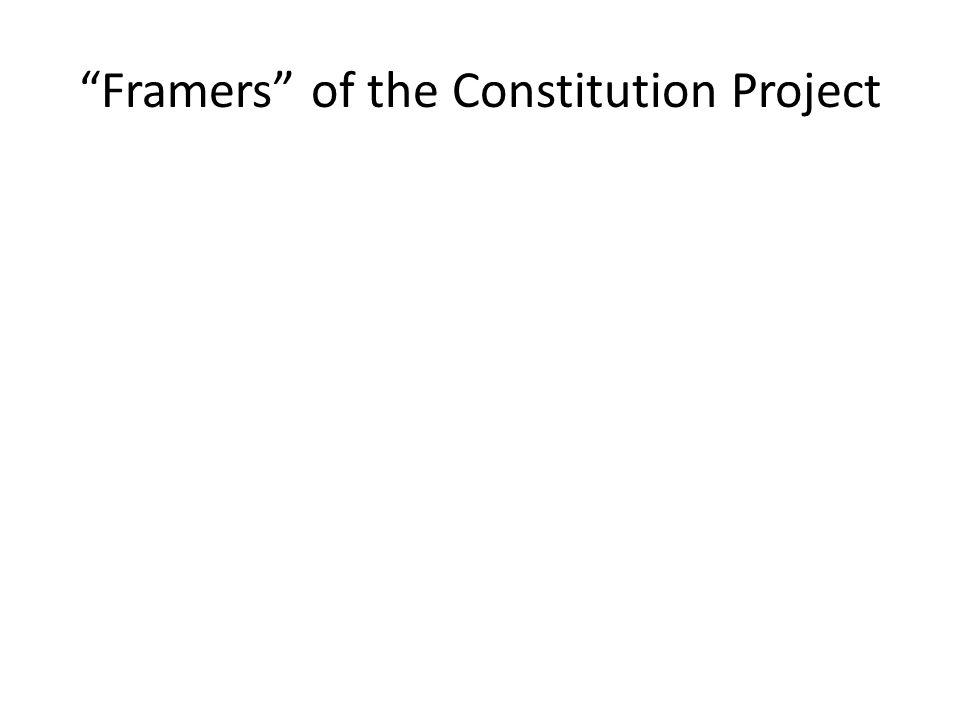 framers of the constitution Why did the framers of the constitution give supreme court justices lifetime appointments  why did the framers of the constitution give the president the power to.