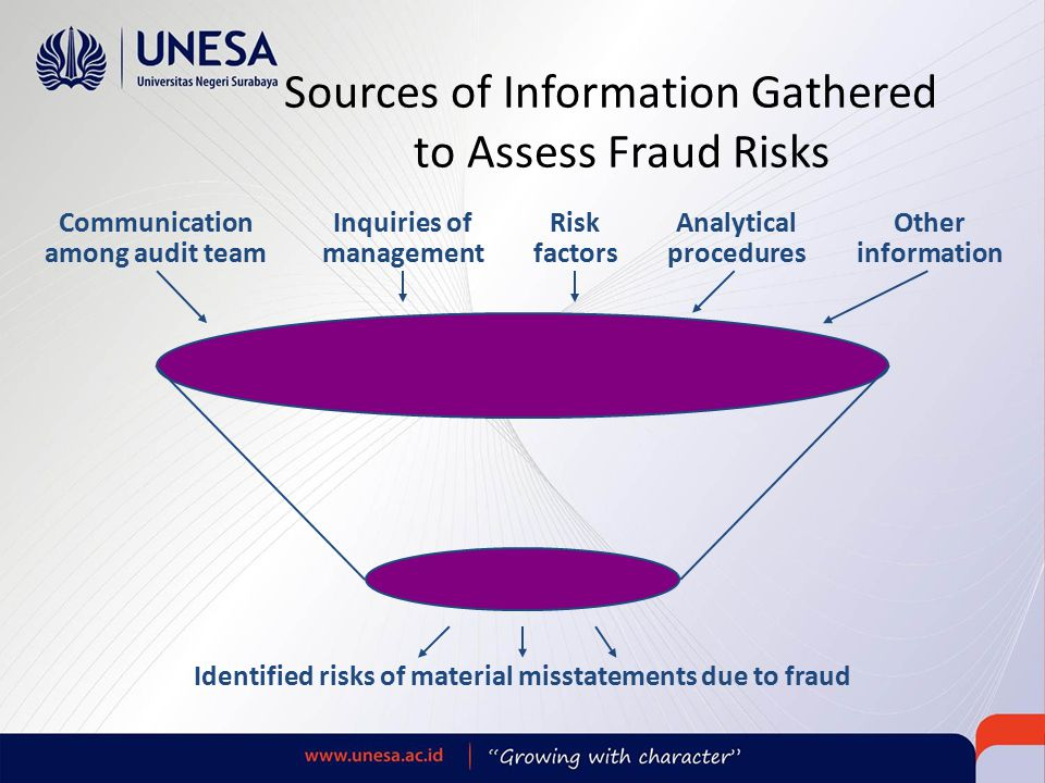 Sources of Information Gathered to Assess Fraud Risks