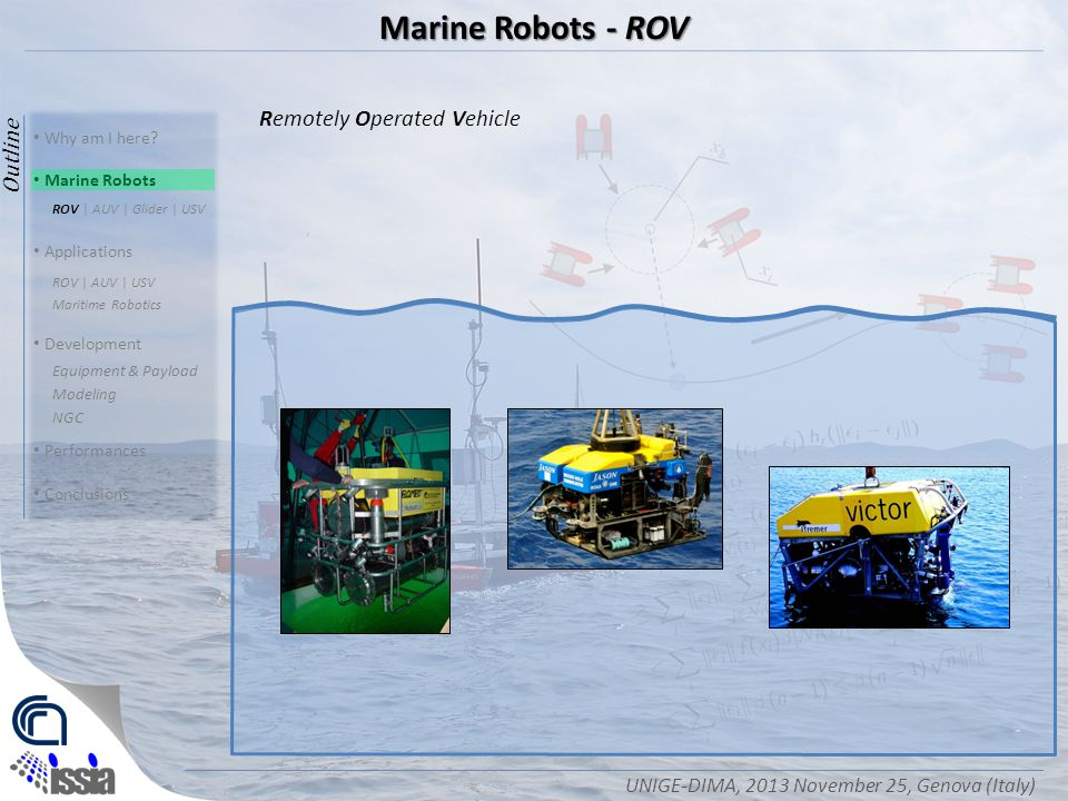 rov operations protocol