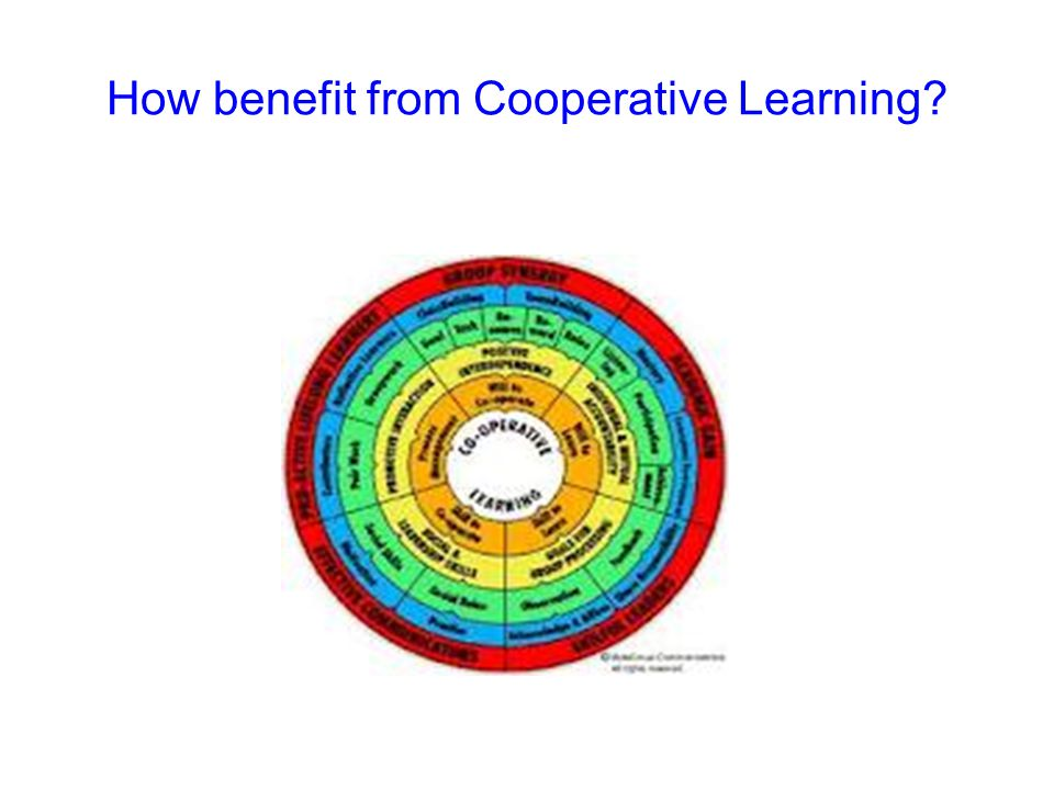 How benefit from Cooperative Learning