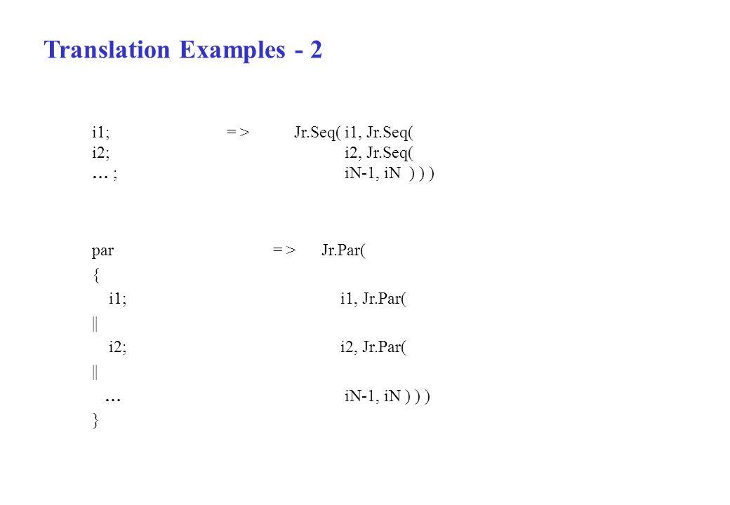 Translation Examples - 2