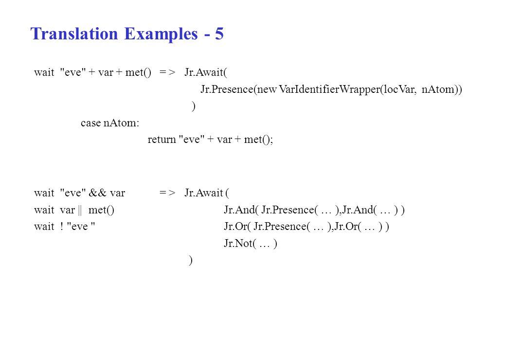 Translation Examples - 5