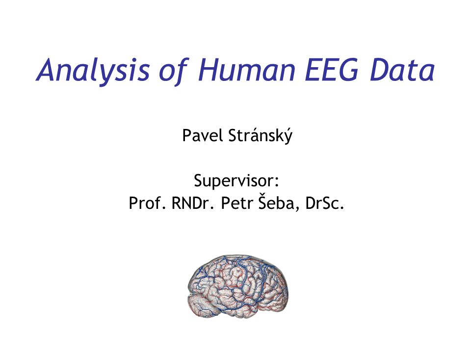 Analysis of Human EEG Data