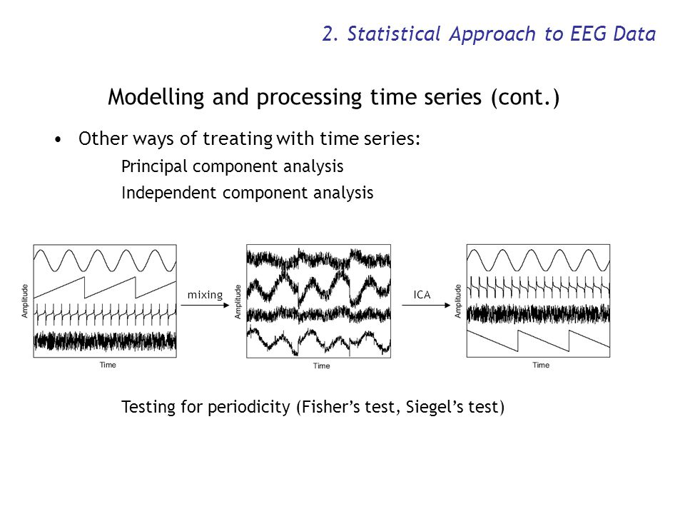 2. Statistical Approach to EEG Data