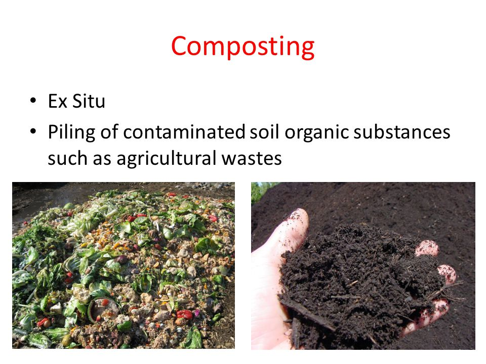 Biological remediation of land and water ppt video for What substances are in soil
