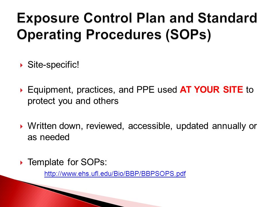 bloodborne pathogens policy template - 2011 uf bloodborne pathogen training ppt download