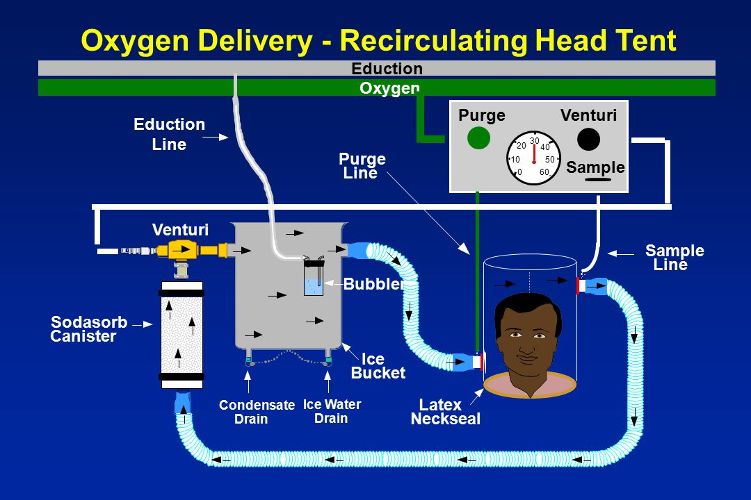 Oxygen Delivery - Recirculating Head Tent  sc 1 st  SlidePlayer & Hyperbaric Chamber Overview - ppt video online download