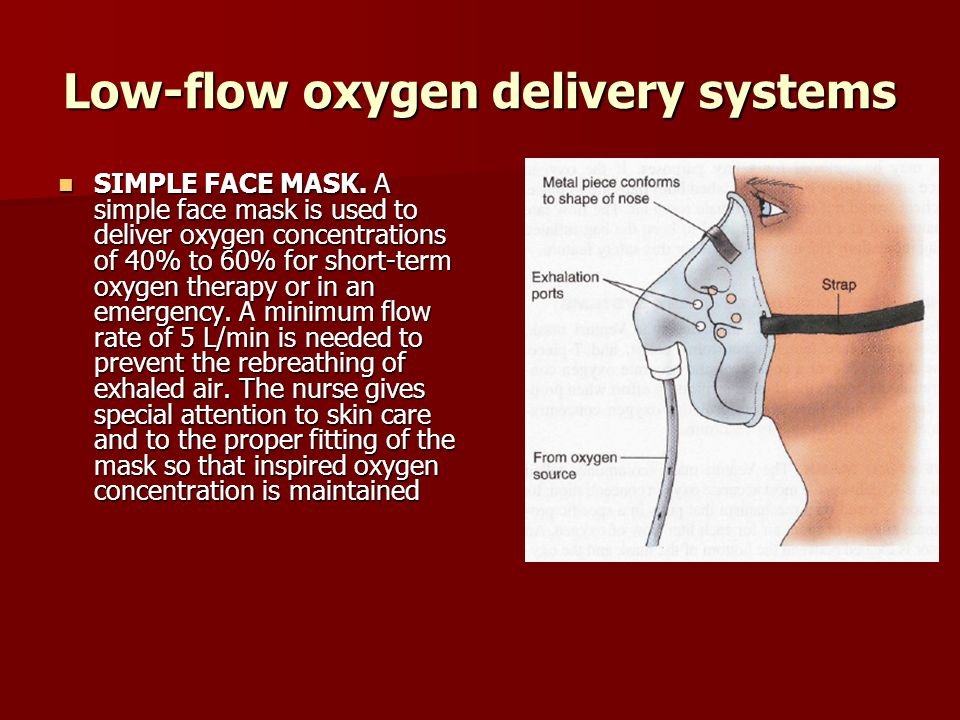 Low-flow oxygen delivery systems
