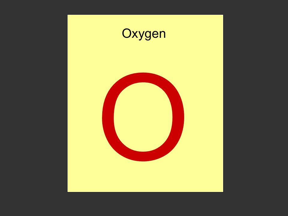 Oxygen Gas Symbol For Oxygen Gas