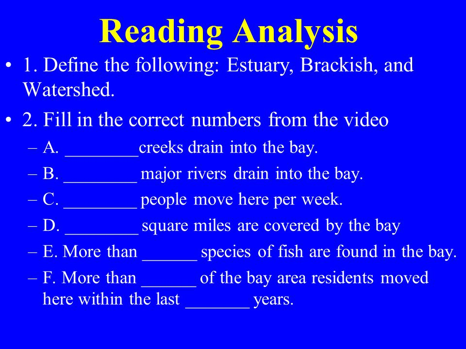 reading analysis 1 Online tests and testing for certification, practice tests, test making tools, medical testing and more.