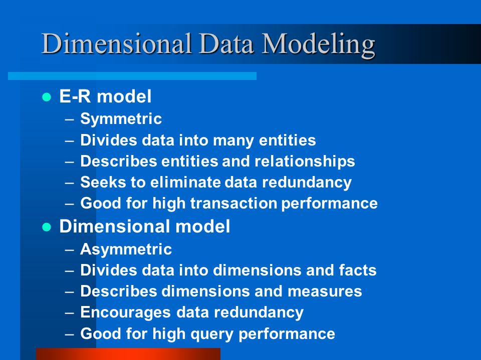 Dimensional Data Modeling