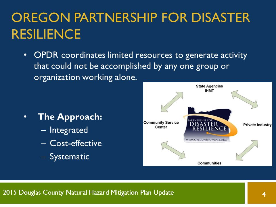 Oregon Partnership for Disaster Resilience