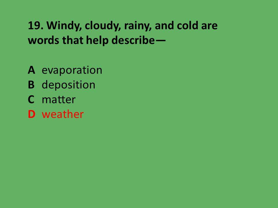 extreme weather science vocabulary packet by