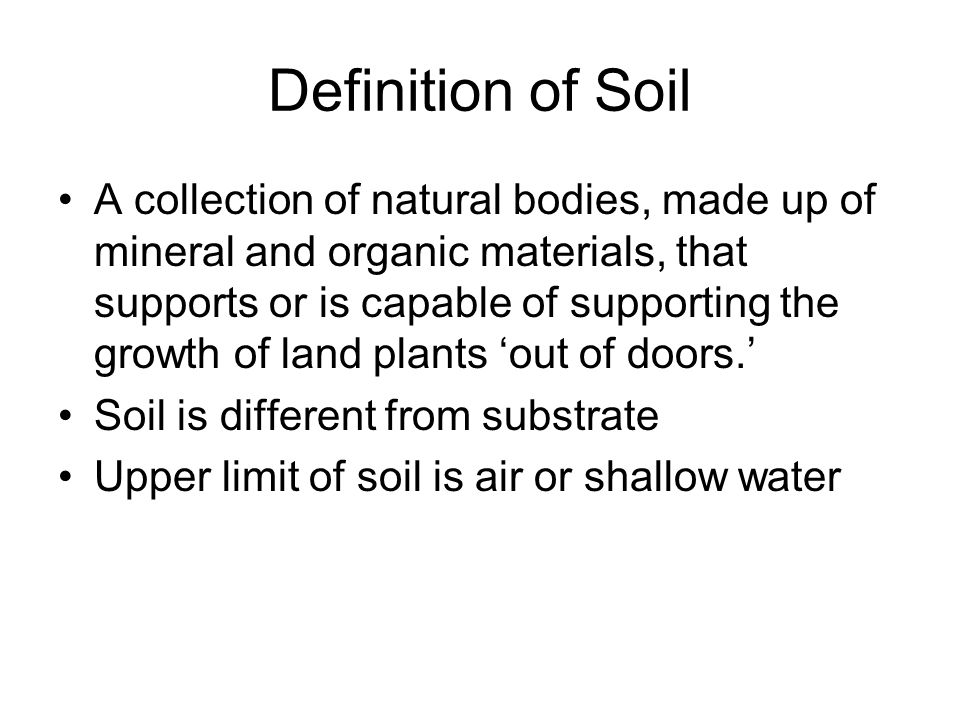 Wetland soils ppt download for Organic soil definition
