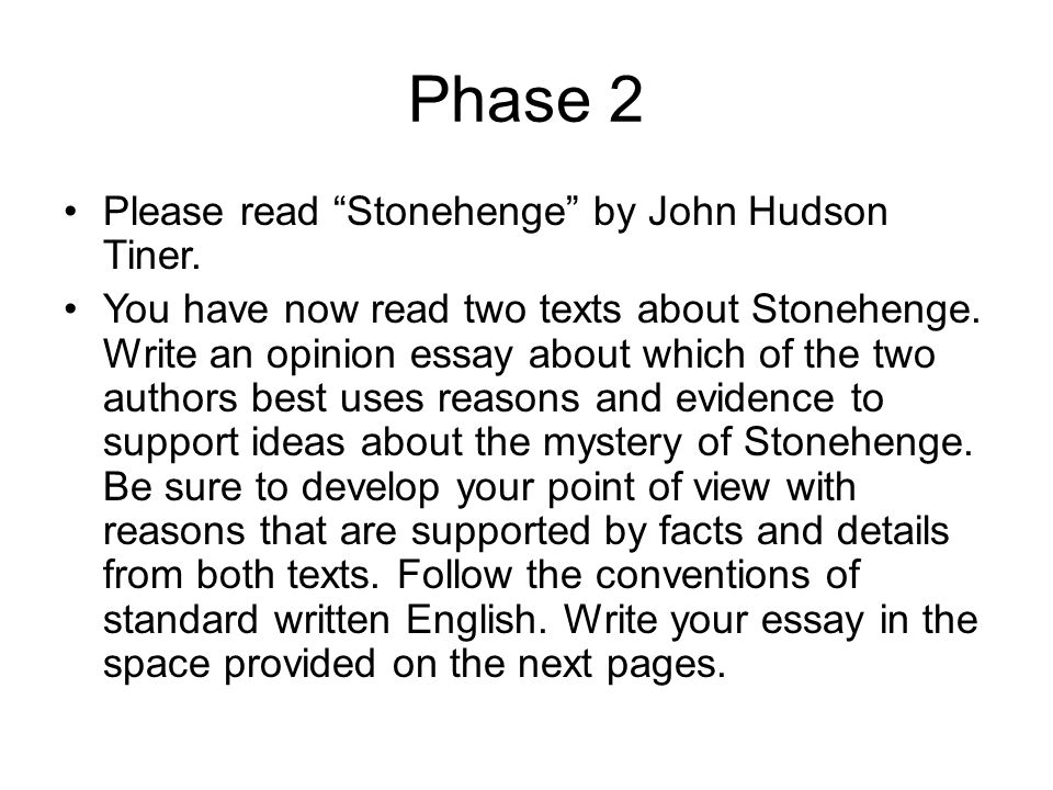 Write essay two texts