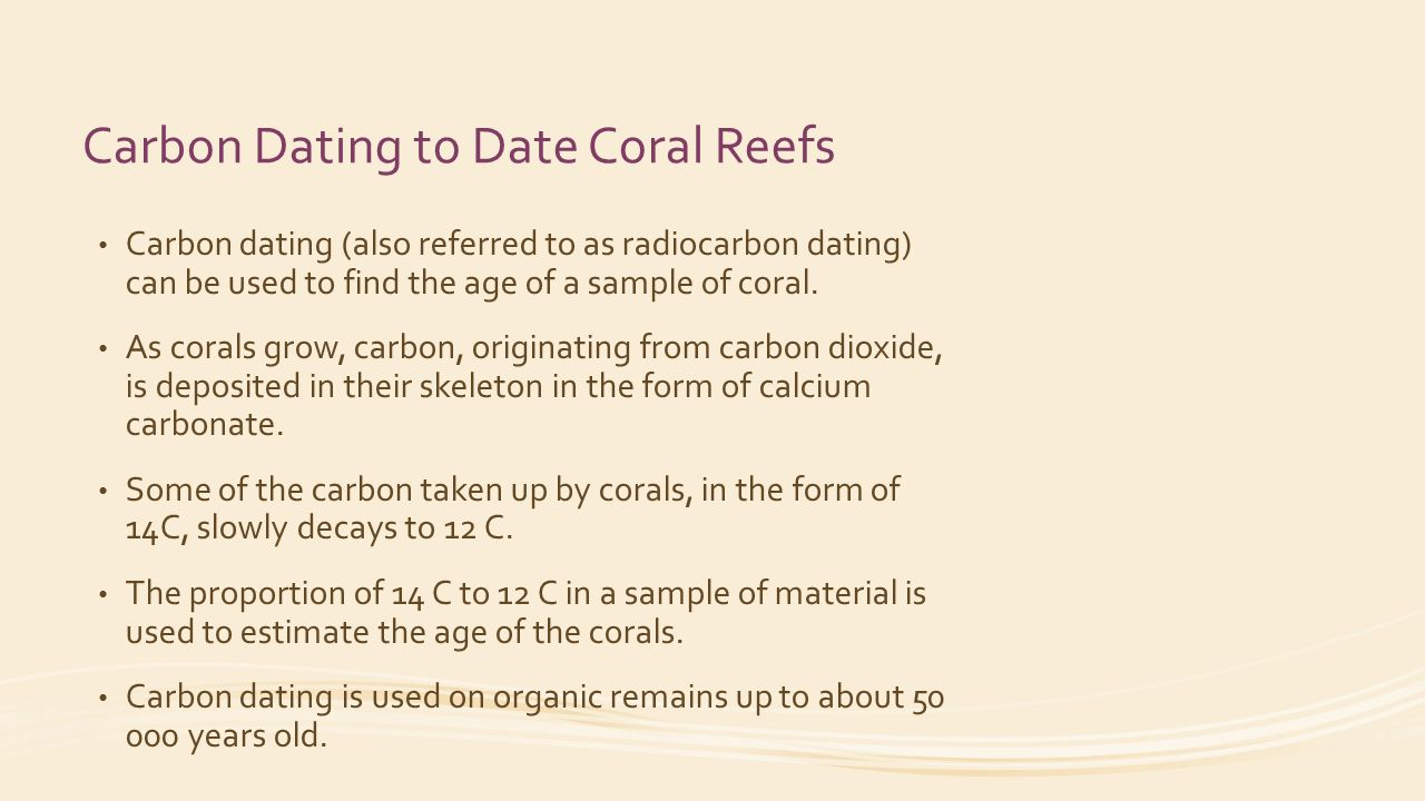 50 micrograms radiocarbon dating