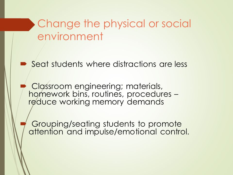 changing the physical and social environment How the environment shapes human behavior example 1: your experiences can change your neural connections dr gregory forbes, recorded at tedglobal 2010: (or little) experience of human care, loving or social behavior, and, crucially, of human language.