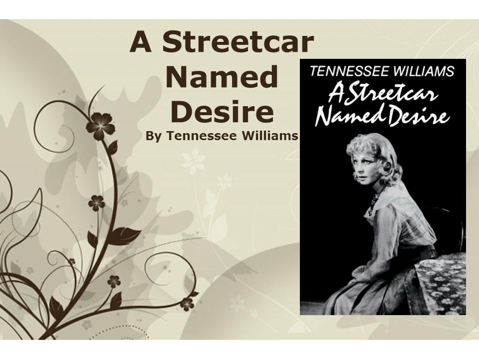 streetcar named desire character notes