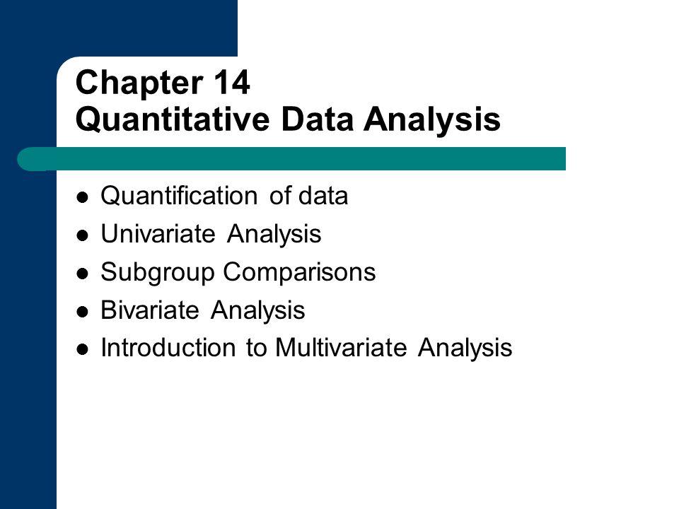 dissertation quantitative analysis