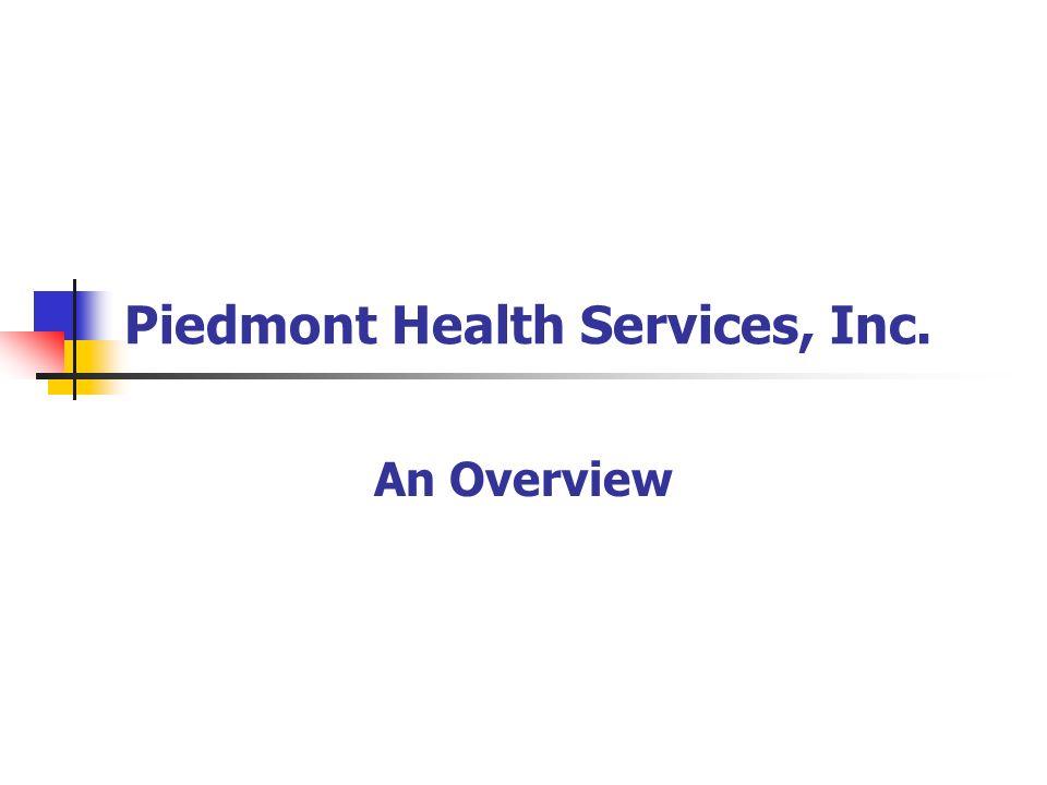 Piedmont Health Services, Inc.