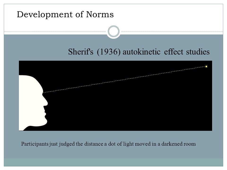 Social Psychology – Norm Formation « Organisation Development