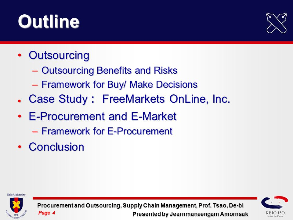 outsourcing benefits outline Dedicated development center (ddc) is an outsourcing model in which a company locates its dedicated resources in a different country in order to gain access to larger talent pools and benefit from lower labor costs and/or taxes, while maintaining full control over the work process.