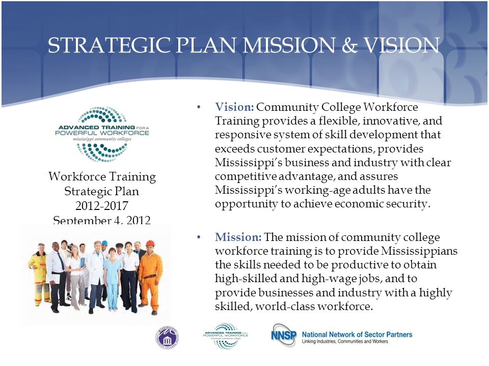STRATEGIC PLAN MISSION & VISION