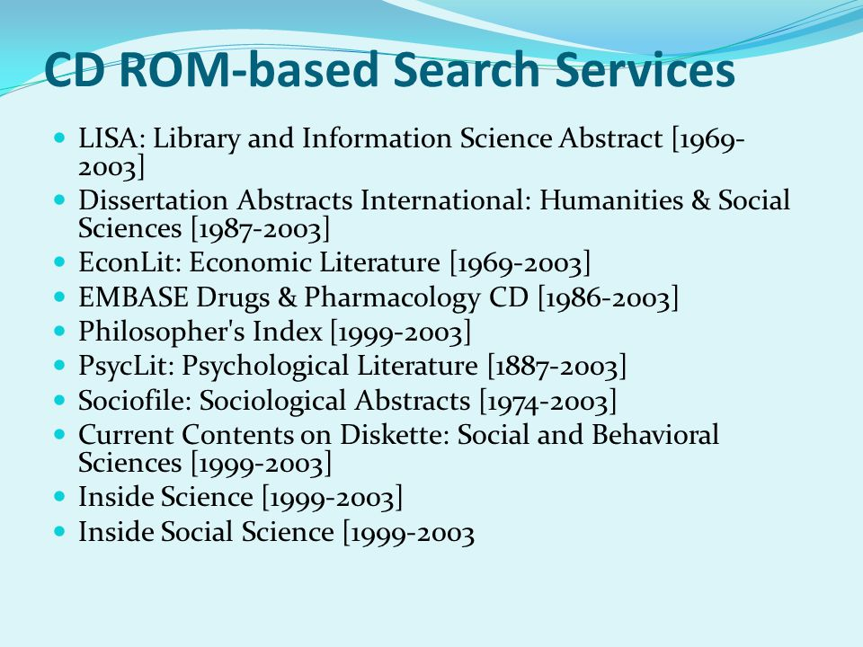 dissertation abstract international search Following submission of the dissertation abstracts international including dissertation abstracts international online search unlike a dissertation.