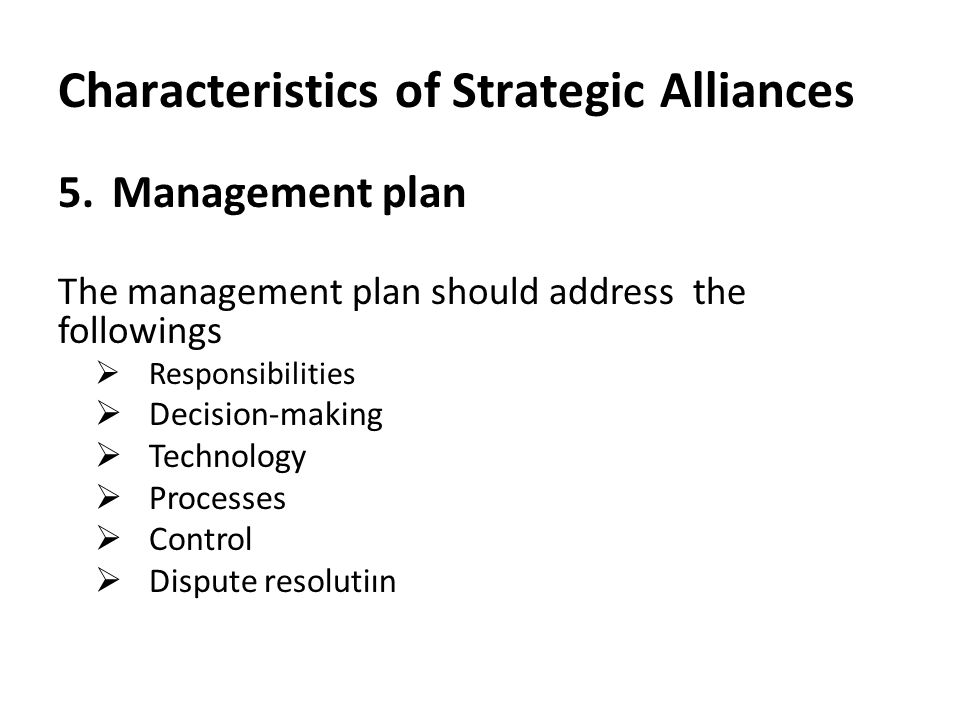 Strategic Alliances: Concept, Features and Forms | Financial Management