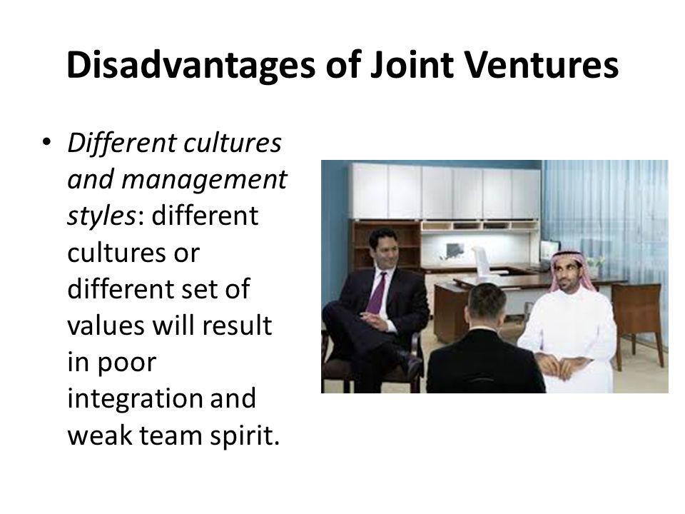 joint venture advantages and disadvantages pdf