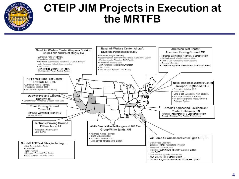 central test and evaluation investment program  cteip
