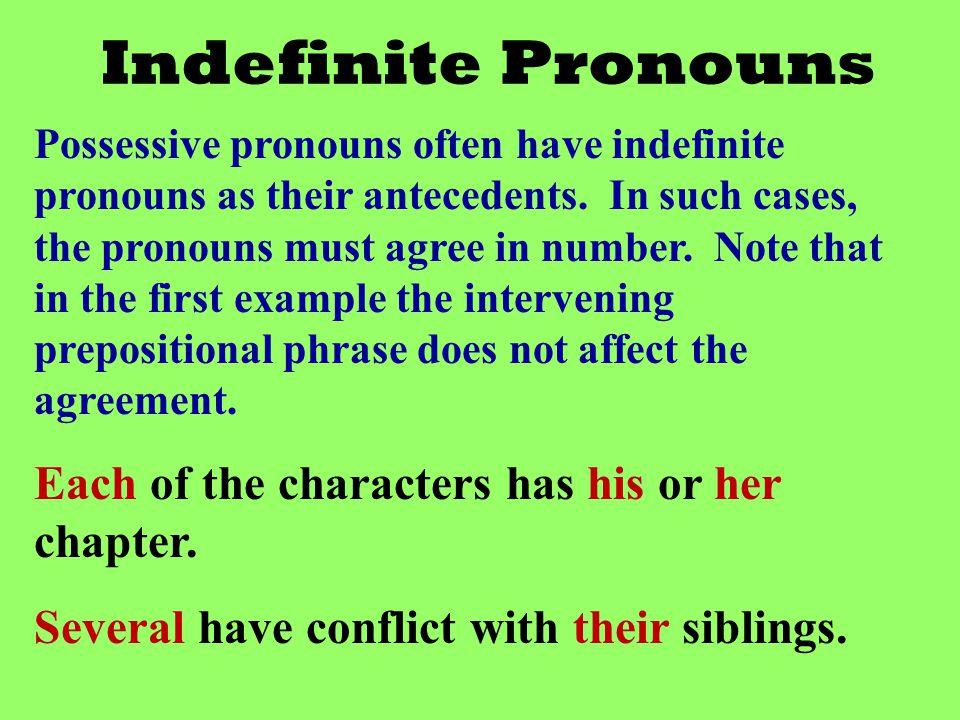 Indefinite Pronouns Ppt Video Online
