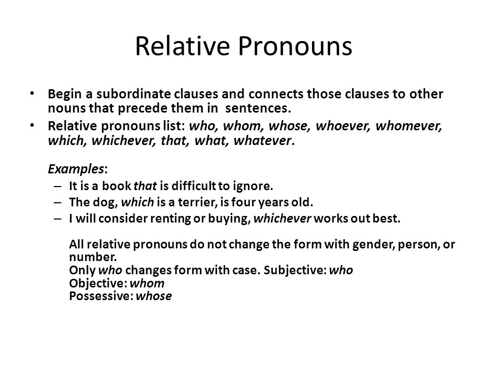 Sentence with the word relative age