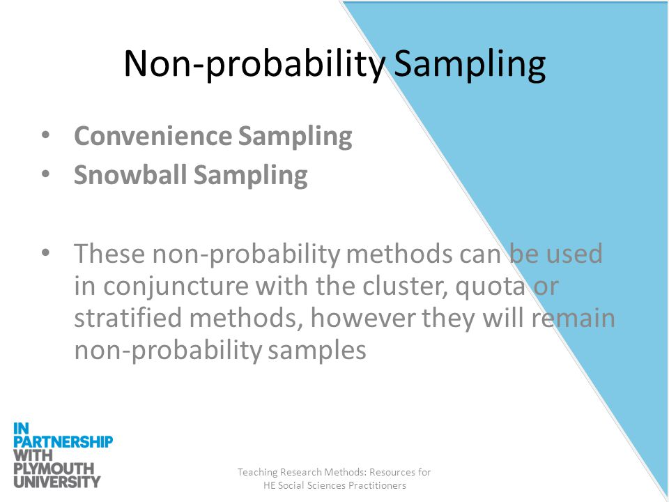 convenience sampling in qualitative research